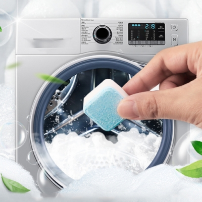 [荷生活]洗衣機清潔發泡錠(48入) 直立式滾筒式通用 獨立包裝