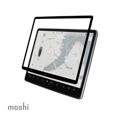 Moshi iVisor XT for Tesla Model 3/Y 無氣泡易安裝亮面觸控螢幕保護貼