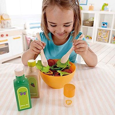 德國Hape愛傑卡-角色扮演廚房系列 主廚Salad沙拉