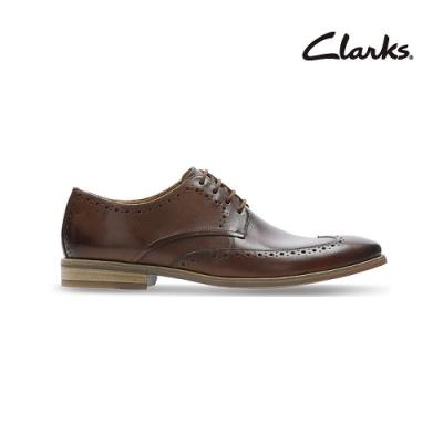 Clarks   工藝世家  Stanford Limit  男皮鞋  棕褐色  CLM48036SD20