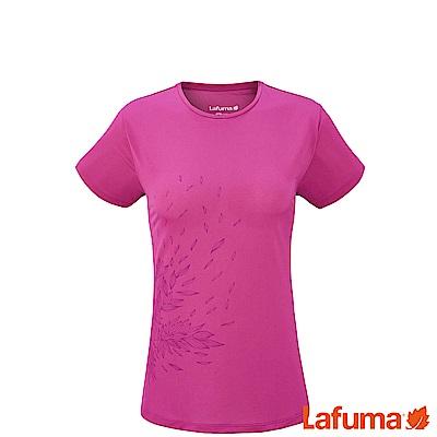 LAFUMA-女ACCESS 短袖排汗衣-LFV113433443-桃紅