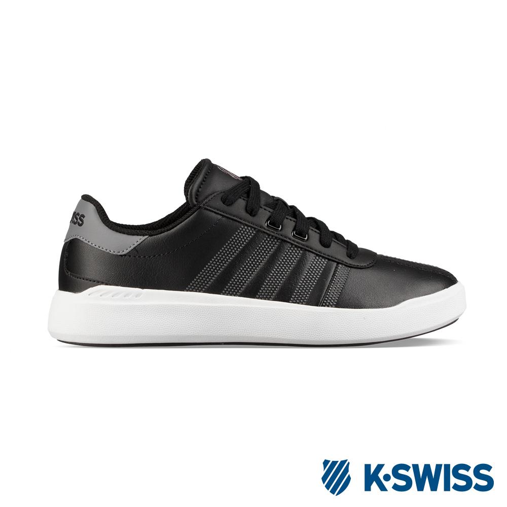 K-SWISS Heritage Light L休閒運動鞋-男-黑