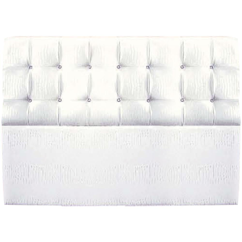 綠活居 卡利塔時尚6尺水鑽皮革雙人加大床頭片(二色可選)-180x20x105cm免組