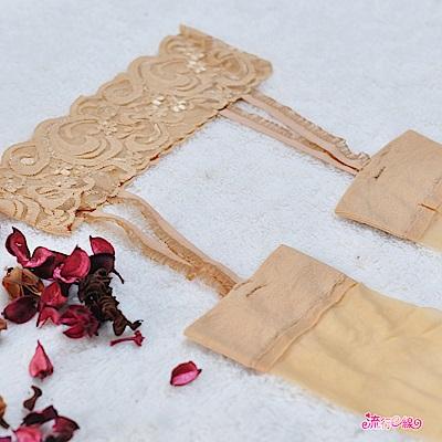 吊帶襪 台灣製優質蕾絲細緻性感吊帶襪 流行E線