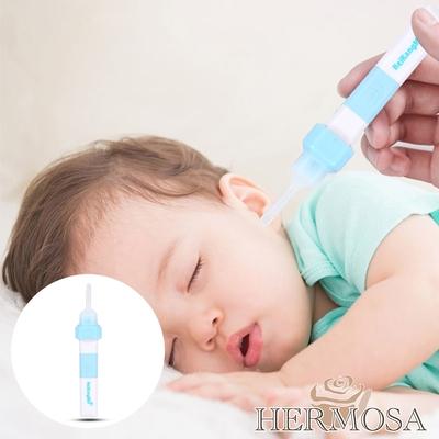 HERMOSA 彈性軟耳勺電動吸耳器/發光掏耳神器 USB充電款