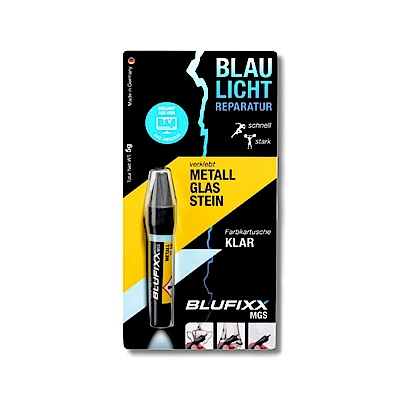德國BLUFIXX  藍光固化膠/補充膠- 硬質型透明色 德國製