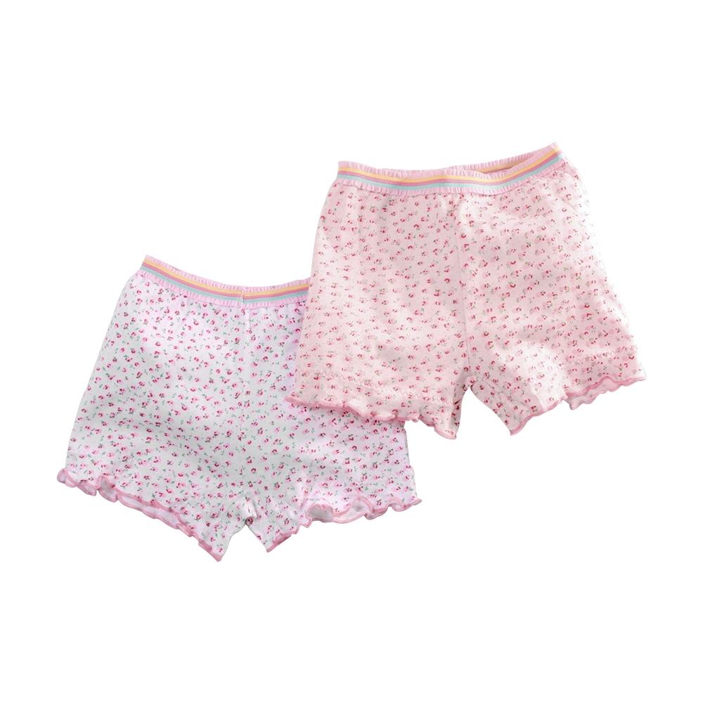 魔法Baby女童內褲(4件一組) 台灣製純棉透氣四角內褲 k51474