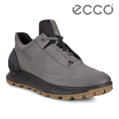 ECCO EXOSTRIKE 突破極限低筒運動戶外靴 男-深灰