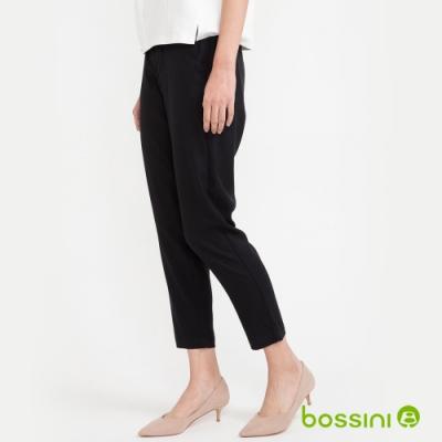 bossini女裝-彈性長褲04黑
