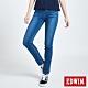 EDWIN EDGE LINE SKINNY 超彈 窄管牛仔褲-女-中古藍 product thumbnail 1