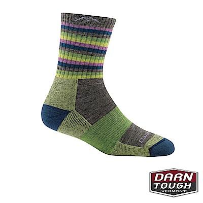 【美國DARN TOUGH】女羊毛襪STRIPES健行襪(2入隨機)