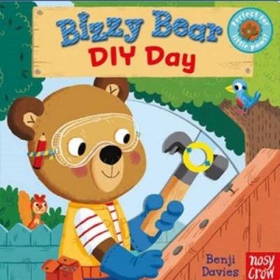 Bizzy Bear:DIY Day 動手做做看熊熊新奇操作書(英國版)