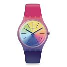 Swatch Bau 包浩斯系列手錶 MULTIBOOST 就是搶眼-多彩