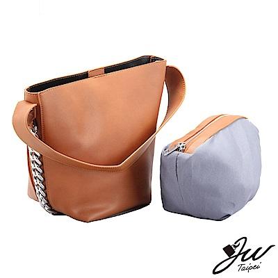 JW  日韓簡約鏈裝飾子母手肩側包 共三色