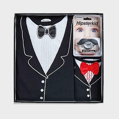 美國FMC X Hipsterkid 男嬰禮盒-李傲納多宴會版