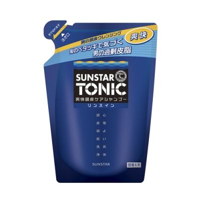 TONIC 爽快頭皮雙效合一洗髮精 340ml (補充包)