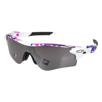 OAKLEY RADARLOCK PATH一般太陽眼鏡-附硬盒鼻墊 OAK-OO9206-6538 白黑亮粉藍