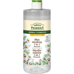 Green Pharmacy 草本肌曜 洋甘菊舒緩四效潔膚水 500ml