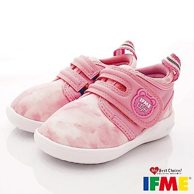 IFME健康機能鞋 輕量學步款 NI00301粉紅(寶寶段)
