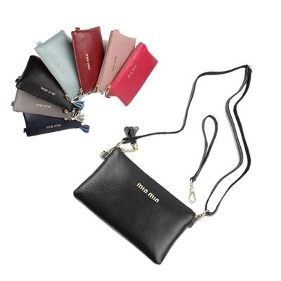 玩皮工坊-牛皮女士肩背手拿兩用手拿包斜肩包斜背包側背包手機包長夾-LH477
