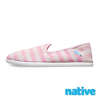 native TOFINO 男/女鞋-條紋粉