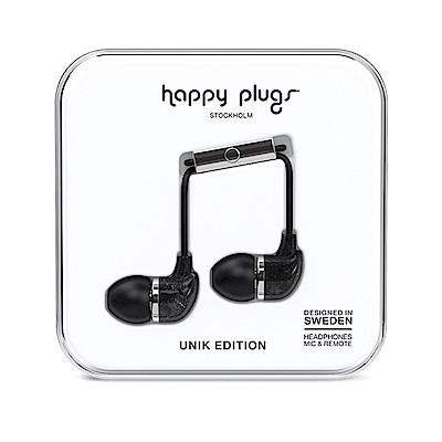 Happy Plugs 特仕限定款入耳式耳機 - 黑色大理石