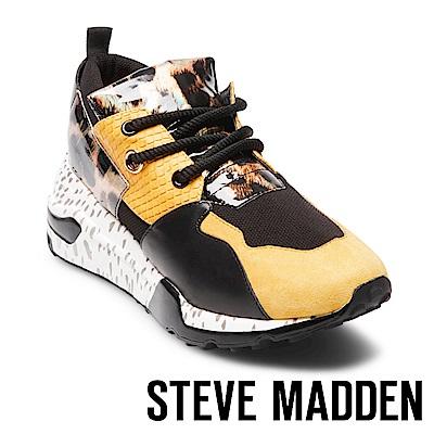 STEVE MADDEN-CLIFF潮流款拼接時尚老爹鞋-黃色