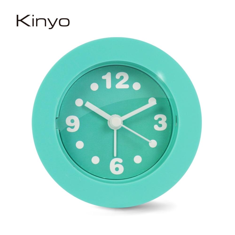 KINYO馬卡龍迷你鬧鐘(綠)ACK7101G