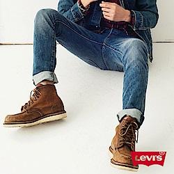 Levis 男款 501 Skinny 排釦直筒牛仔褲 / 彈性布料
