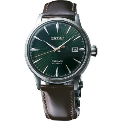 (無卡分期6期)SEIKO精工Presage Cocktail 調酒師機械錶(SRPD37J1)