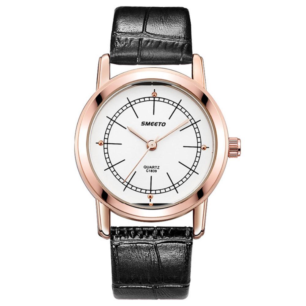 Watch-123 玫金框別緻錶盤業務高手手錶 (4色任選)