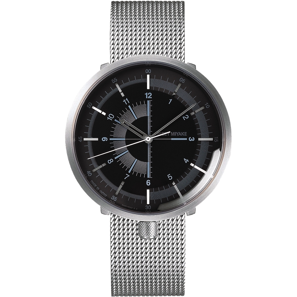ISSEY MIYAKE 三宅一生 One-Sixth 米蘭帶手錶(NYAK002Y )