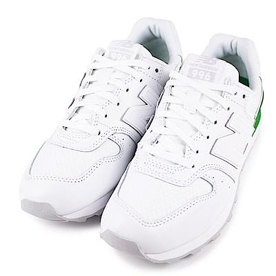 NEW BALANCE-女復古休閒鞋WR996SG-D-白
