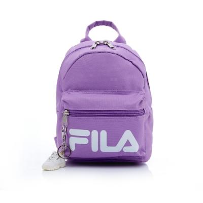 FILA 小型後背包(附鑰匙圈)-粉紫 BPT-5103-MV
