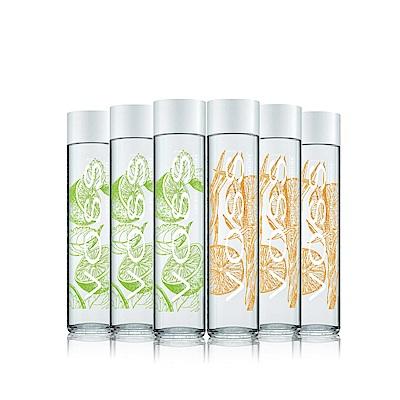 VOSS芙絲 挪威風味氣泡礦泉水6件組(萊姆薄荷x3+柑橘檸檬草x3)
