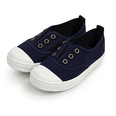 BuyGlasses 可愛俏皮鬆緊懶人鞋-深藍