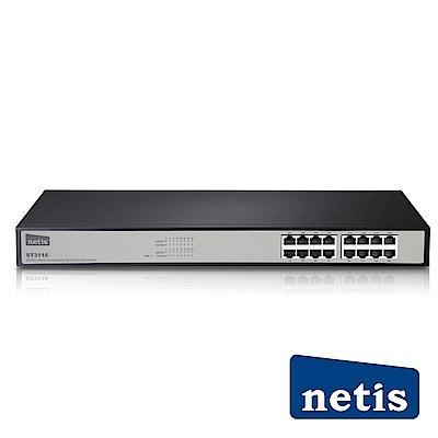 netis ST3116 16埠機架式乙太網路交換器