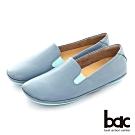 【bac】簡約素色懶人便鞋-藍