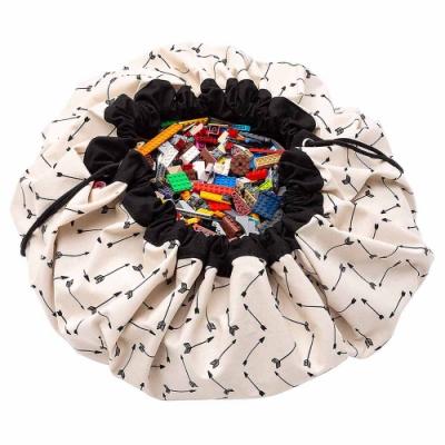 【比利時 Play & Go】玩具整理袋-黑色羽箭