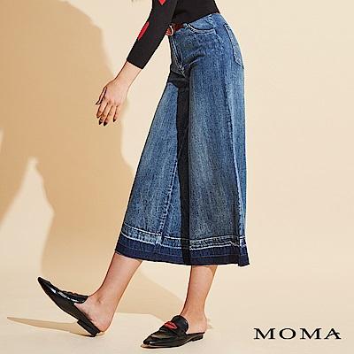 MOMA 率性牛仔寬褲