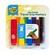 【美國crayola 繪兒樂】幼兒可水洗三角筆桿彩色筆8色 product thumbnail 1
