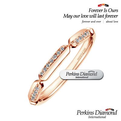 PERKINS 伯金仕 - Dance玫瑰金系列 鑽石戒指