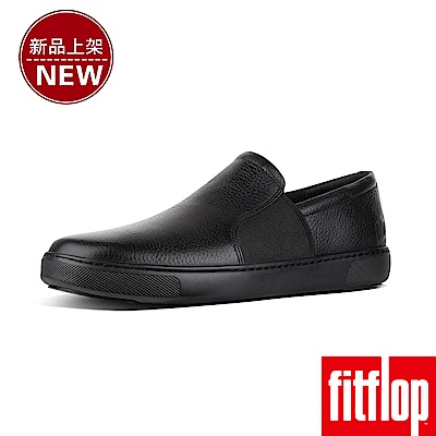FitFlop COLLINS SLIP-ON SKATE SHOES-黑