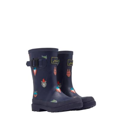 英國【Joules】法國藍動物園雨靴