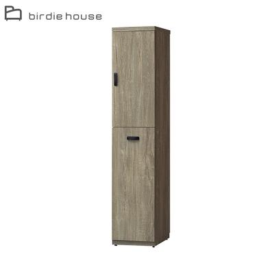 柏蒂家居-伊昂1.3尺右開二門鞋櫃/隙縫收納置物櫃/玄關櫃-40x40x189cm