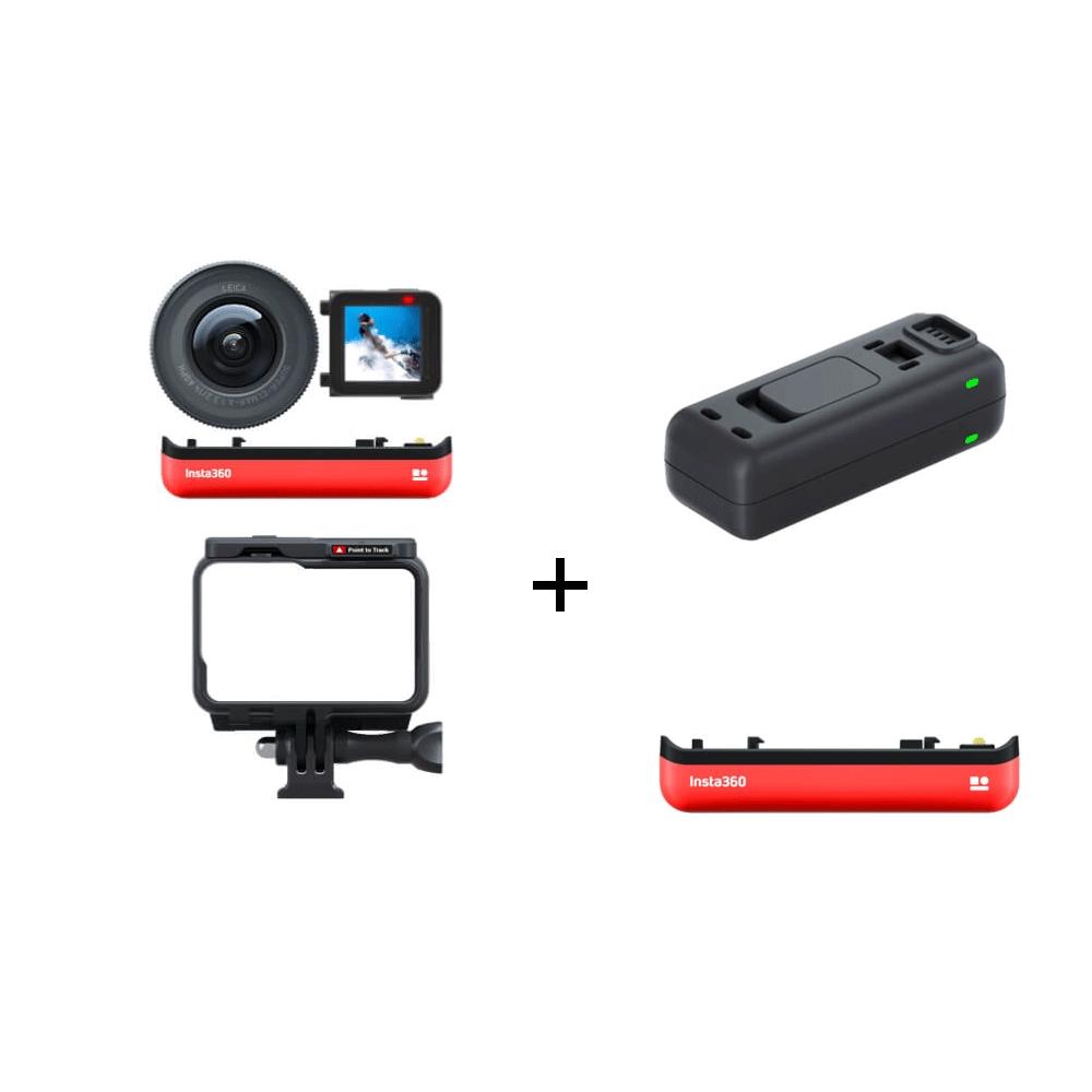Insta360 ONE R 1英吋感光元件套裝+電池+智能快充