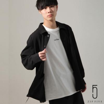 ZIP日本男裝 微落肩休閒款教練外套(5色)