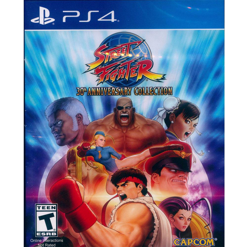 快打旋風 30 週年紀念合集 Street Fighter 30th-PS4 中英日文美版