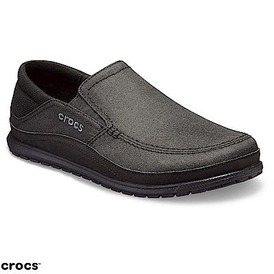 Crocs 卡駱馳 (男鞋) 聖克魯茲休閒鞋 204835-060