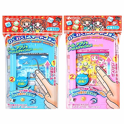 Heart 手機遊戲造型糖果-附玩具(24g)